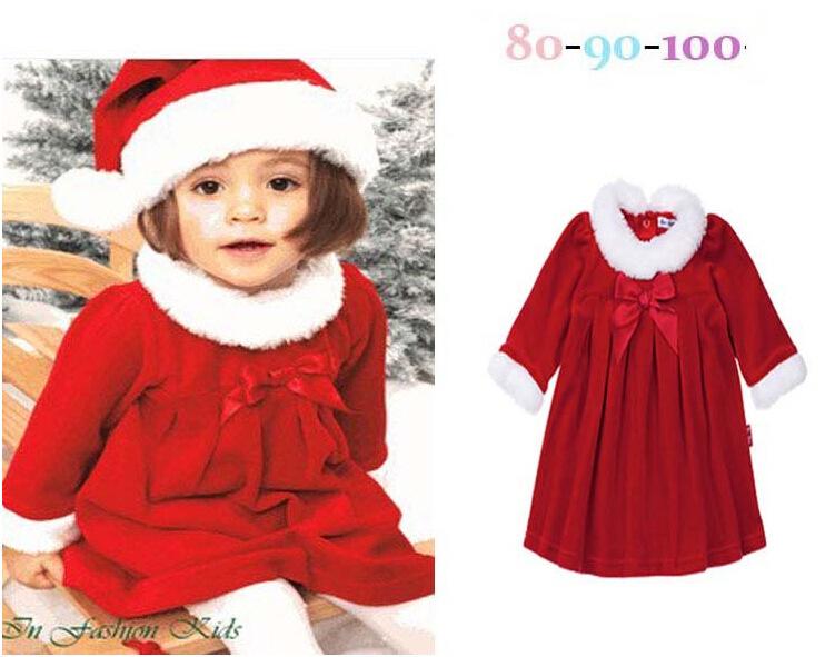 Children's Kids Baby Christmas Winter Santa Claus Romper Jumpsuit ...