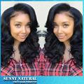 Fashionable Design Black Full Lace Glueless Hair Wigs Women Hair Long Wavy Full Wig Hair Adjustable