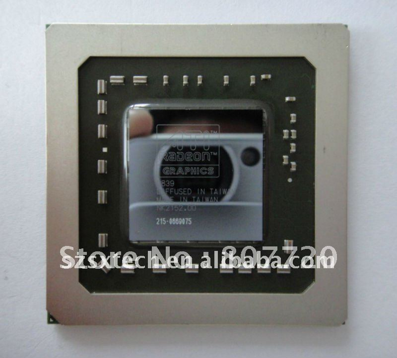 100% bland new and original ATI 215-0669075 GPU chips hot!!!!(China (Mainland))