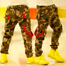 Camouflage Baby Boys Pants Personality 2015 Spring&Autumn Kids Pants Casual Harem Children's Trousers C05(China (Mainland))