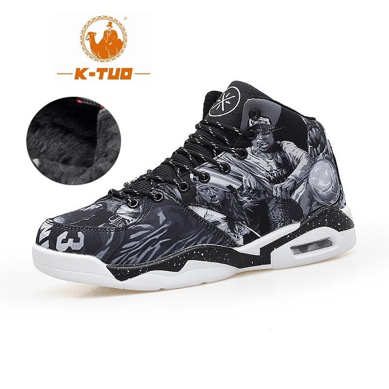 K-TUO High Top Basketball Shoes Men Women Boots Breathable Non Slip Shoes Loves Sports Air Basketball Outdoor Sneakers KT-8001(China (Mainland))