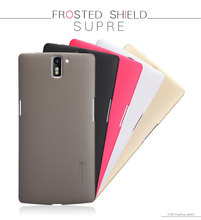 Genuine Nillkin Super Shield Shell Hard Case Cover Skin Back + Screen Protector For OnePlus A1 One+ 1+ A0001 10pcs/lot