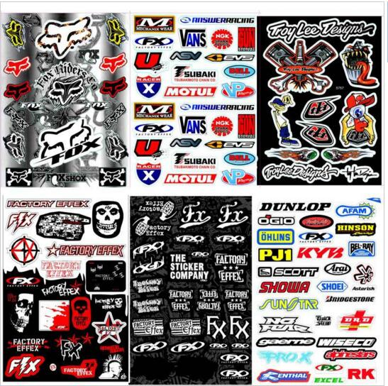 1pcs Decals Stickers pit dirt bike Racing Street Off Road motocross Cross motorcycle scooter ATV for Kawasaki Motorcycle Decal(China (Mainland))