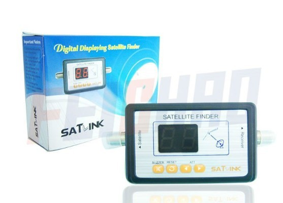 F01981 Newest Satlink WS6903 TV Signal Finder Digital LCD Displaying For Satellite Finder Meter
