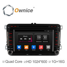 Quad Core Android 4.4 2 Din 7'' Car DVD Player For VW Passat POLO GOLF Skoda Seat 3G GPS IPOD 1024*600 16G ROM DAB+ TPMS DVR(China (Mainland))