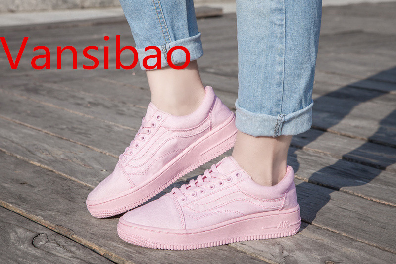 Free Shipping Vansibao AF1 Series Women's Casual Shoes Size 36-39 Vanses shoes(China (Mainland))