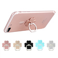 Cartoon clover 360 degree mobile finger ring holder mobile phone stand for iphone ipad HUAWEI Xiaomi