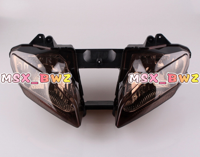 Motorcycle Front Headlight Lighting for Yamaha YZF R6 600 2008 2009 Front Lightings HeadLamps free shipping!(China (Mainland))