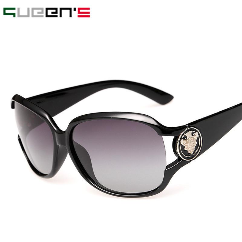 Sunglasses Women Polarized Sunglasses 2016 Brand Designer Sun Glasses For Women Lady Oculos UV400 With Box(China (Mainland))