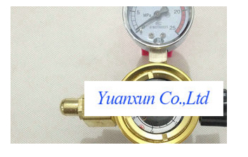 Fusible no table table argon cylinder welding machine energy-saving pressure reducer Argon gas meter table AT15