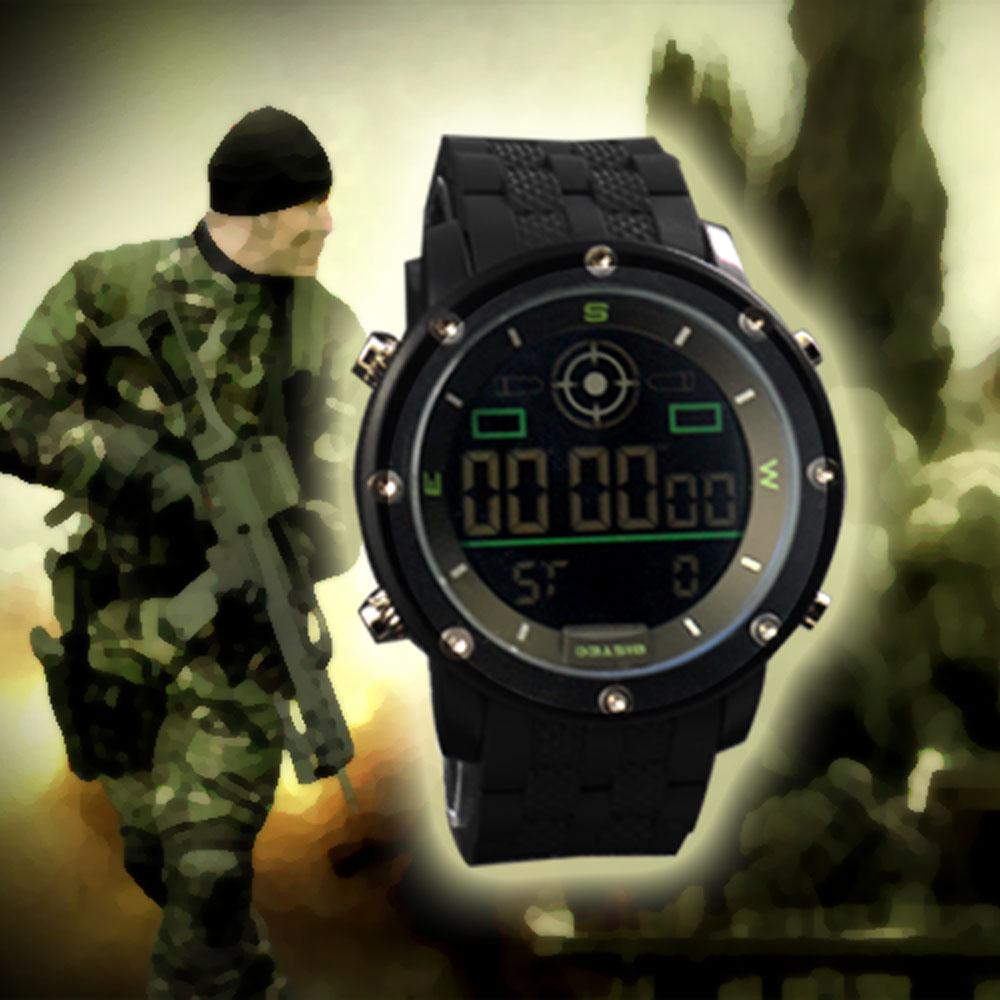 Montre Militaire Digital