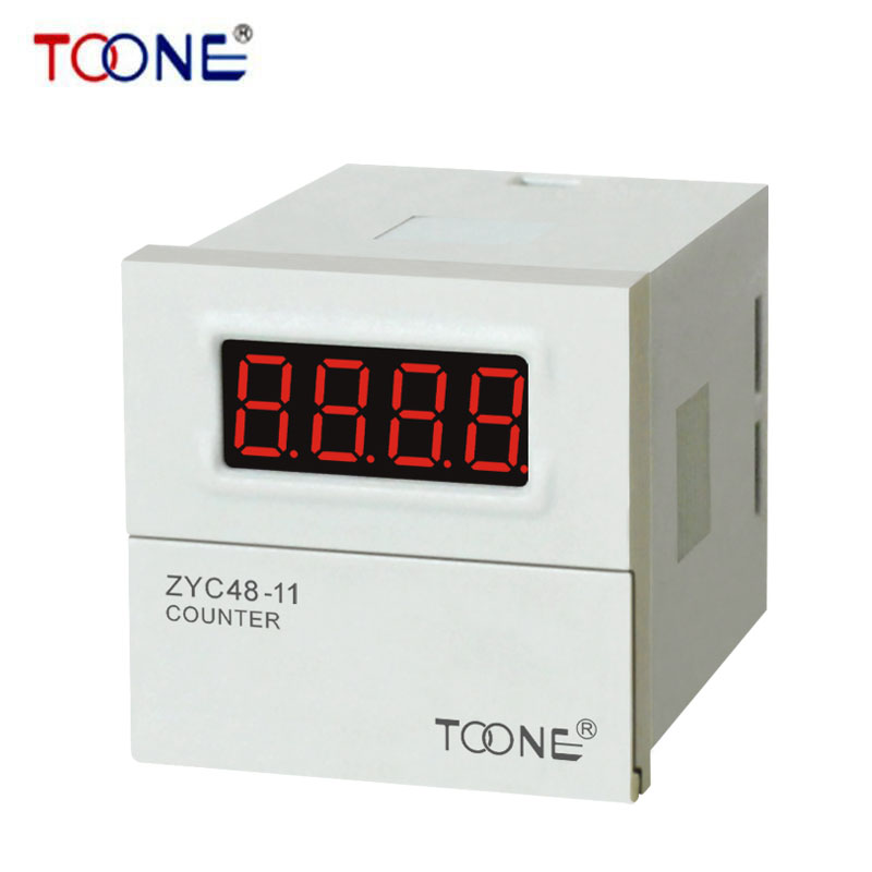ZYC48-11 Preset Counting Relay for Digital LED Display AC220V DC24V Electronic counter relay counter with memory DH48J ZYC48-11(China (Mainland))