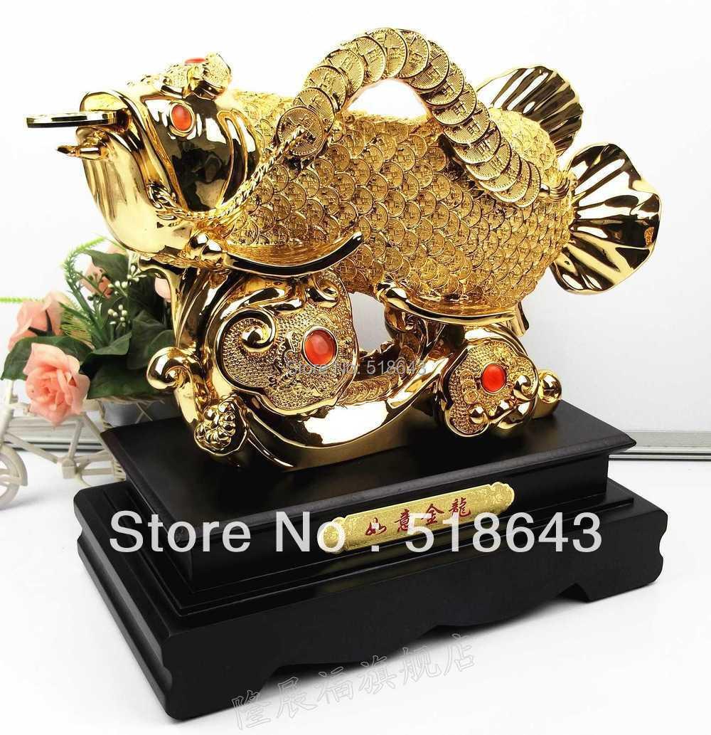 Buy good luck free shipping ruyi jinlong for Home decorations gifts