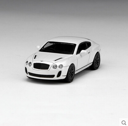 Freeshipping,Kyosho 1/64 Bentley Supersports white Die-casts metal car models(China (Mainland))