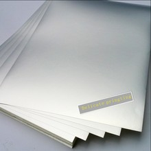 Free shipping 50 PCS/lot A4 blank silver label waterproof pad pet for laser printers