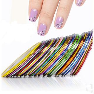 Наклейки для ногтей Show me 10 , DIY line01 show me str 535