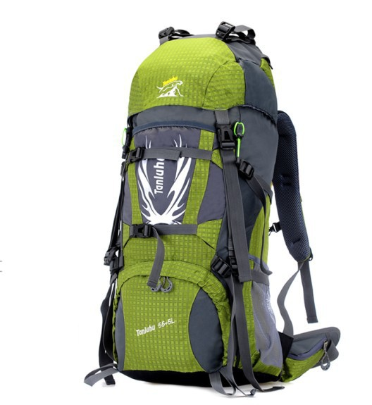 Outdoor climbing backpack 60L hiking tour liter waterproof shoulder bag men women camping 045 - Orem Trading Co., Ltd. store