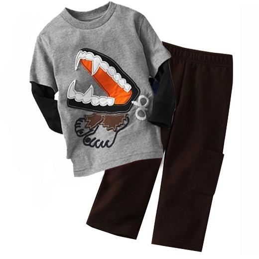 Carter's Boys Clothing Sets Pajamas Stripe Long Sleeve Suits Car Baby Boys Outfits Free Shipping(China (Mainland))