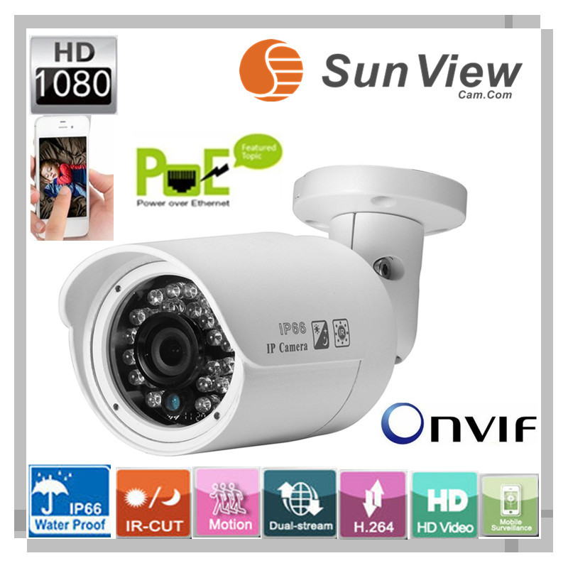 Камера наблюдения SunView surveillance Mgapixel IP camera SunView sv/b2068f/poe 1080P HD 5,0 ip SV-B2068F-POE full hd 1080p bullet outdoor security camera ip 960p 720p 1mp free shipping