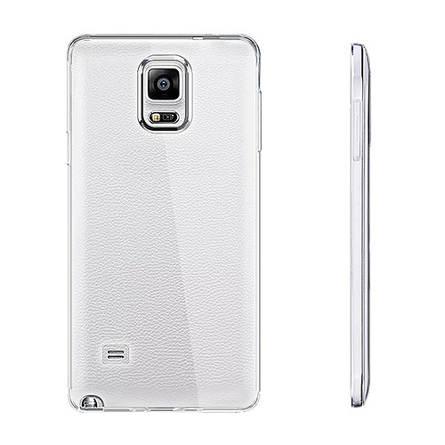 Ultra Slim Clear TPU Soft Silicone Cases Protector Samsung Galaxy Note 4 - Apparel & Electronics Shop store