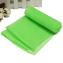5PCS Nylon Mesh Bath Shower Body Washing Clean Exfoliate Puff Scrubbing Towel Cloth Free Shipping(China (Mainland))