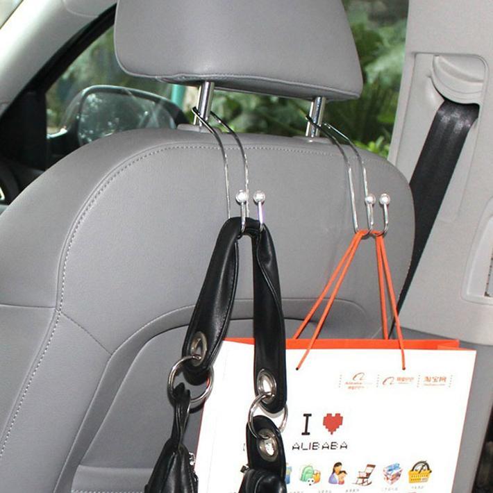 Вешалка для автомобиля на подголовник
