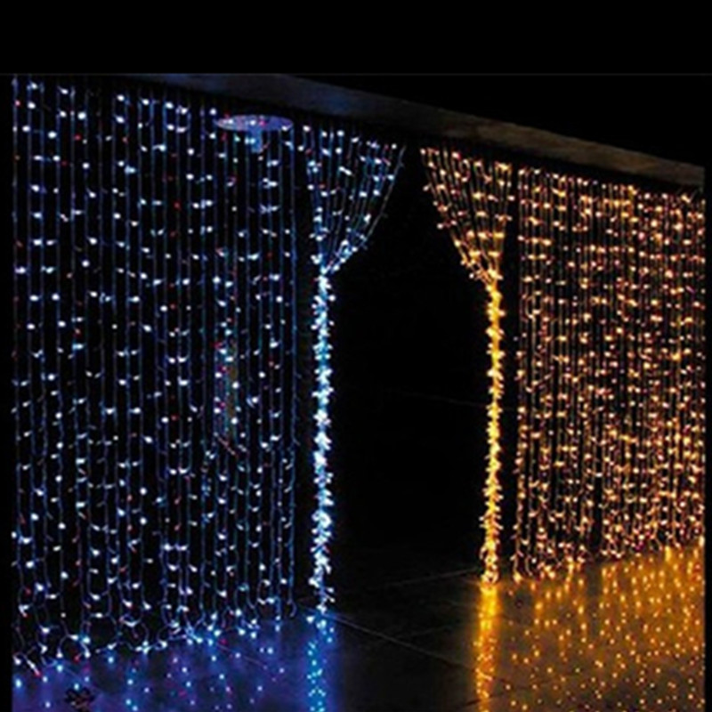 2015 Wholesale 3Mx3M 300 LED Net String Light Curtain Lamp Christmas Xmas Festival Party ...