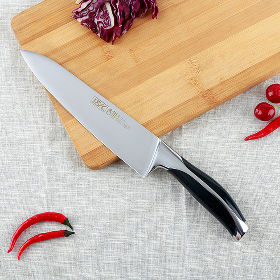 Buy FINDKING New top grade sharp kitchen knife 440c quality 8'' inch Frozen meat cutter Chef knife cheap