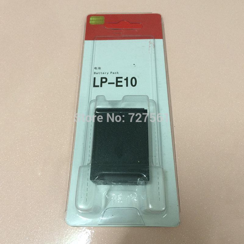 Original LP-E10 LP E10 Rechargeable Camera Battery For Canon EOS 1100D 1200D Kiss X50 X70 Rebel T3 T5 Original Batteries Pack(China (Mainland))
