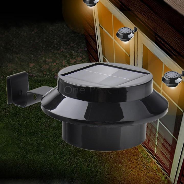 super bright yard lamp solar panel garden light 3 led lights outdoor. Black Bedroom Furniture Sets. Home Design Ideas