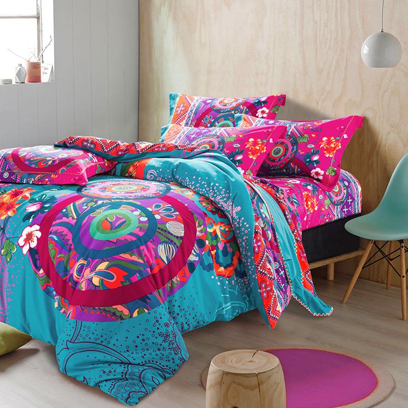 boh me couette couvre promotion achetez des boh me couette. Black Bedroom Furniture Sets. Home Design Ideas
