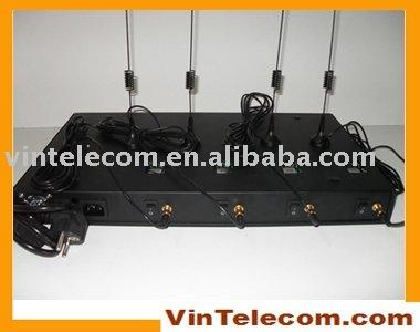 Здесь можно купить  4 SIMs/ 4channels GSM Terminal / GSM FWT / FCT / Wireless Gateway /  for VoIP  Телефоны и Телекоммуникации