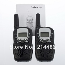 High Quality 2 Pcs 0.5W UHF Auto Multi-Channels 2-Way Radios Walkie Talkie T-388