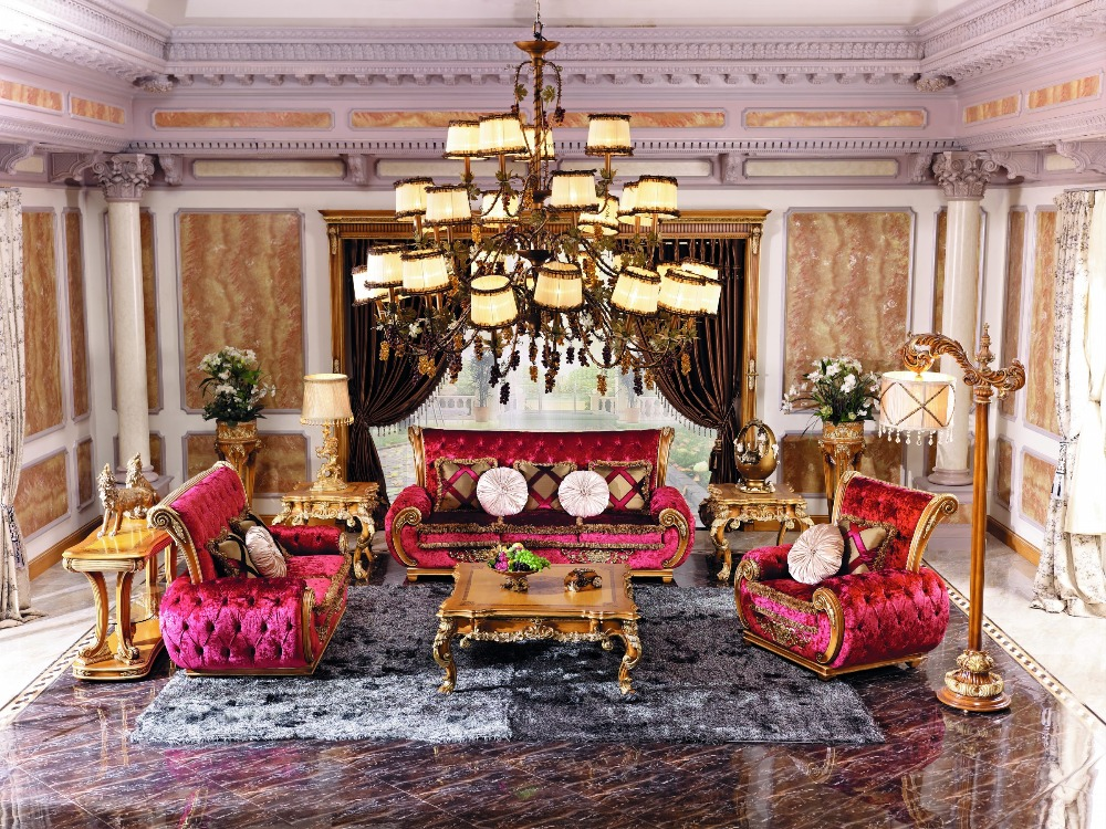 .com : Buy LOUIS PALACE LUXURY SOFA SET from Reliable sofa set ...