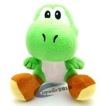 1 pcs 18cm Green Yoshi Super Mario Bros Soft Doll Figure Stuffed Toy Cute Plush Toys