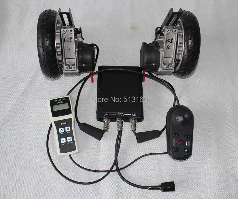 2014 24V 180W 8 Brushless Electric Wheelchair Conversion Kits with Electric Magnet Braking<br><br>Aliexpress
