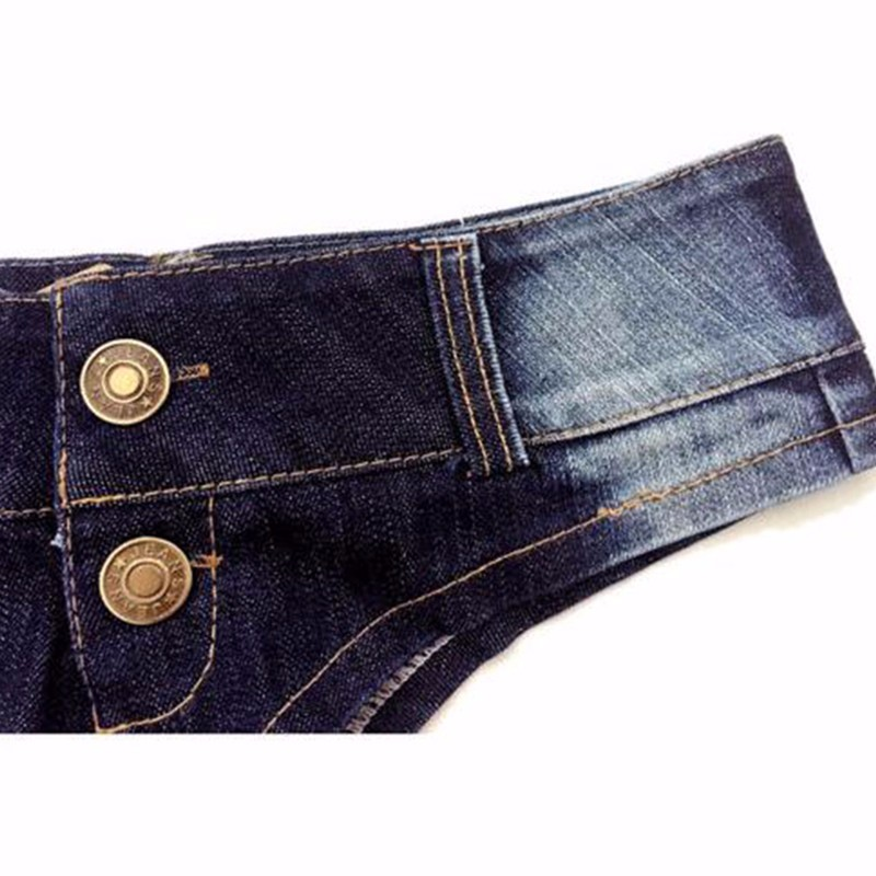 Gogoboi New Fashion Summer Denim Cotton Short  Shorts Clubwear 2017 Sexy Women Shorts Low Waist Stretch Mini Super Jeans