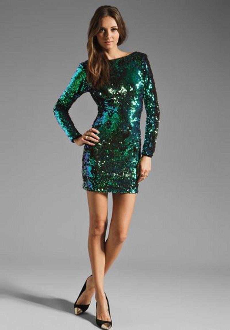 Cheap Short Sequin Party Dresses