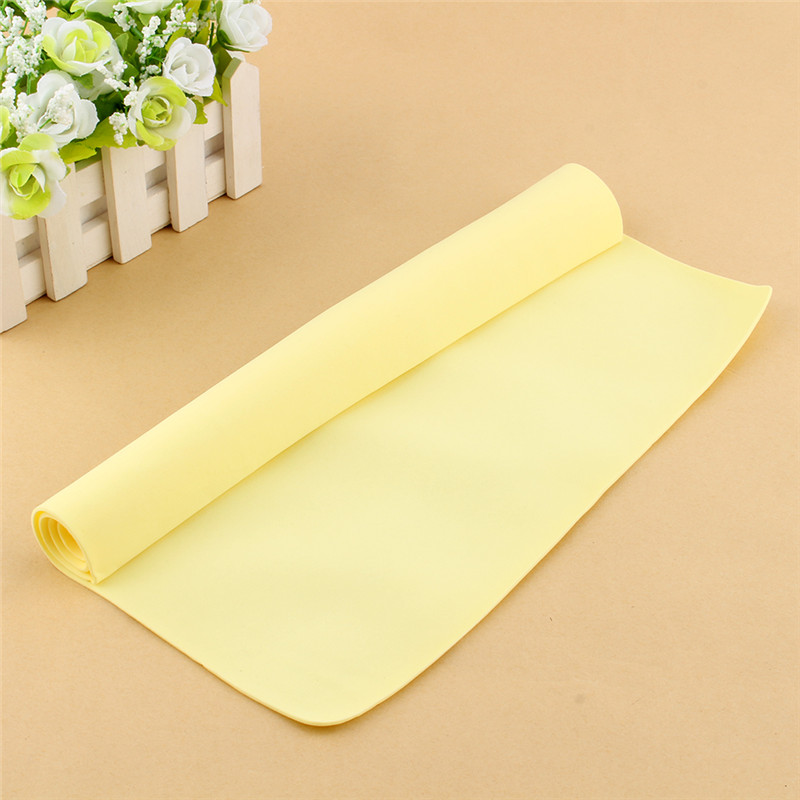 1Pcs Home Cleaning Cloths Magic Car Washing Wipe Towel Cloth Absorber Synthetic Chamois Leather(Hong Kong)