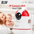 BW Wireless IP Camera Wifi CCTV 2 Ways Audio Video Surveillance Automatic Motion Detect Alarm Security