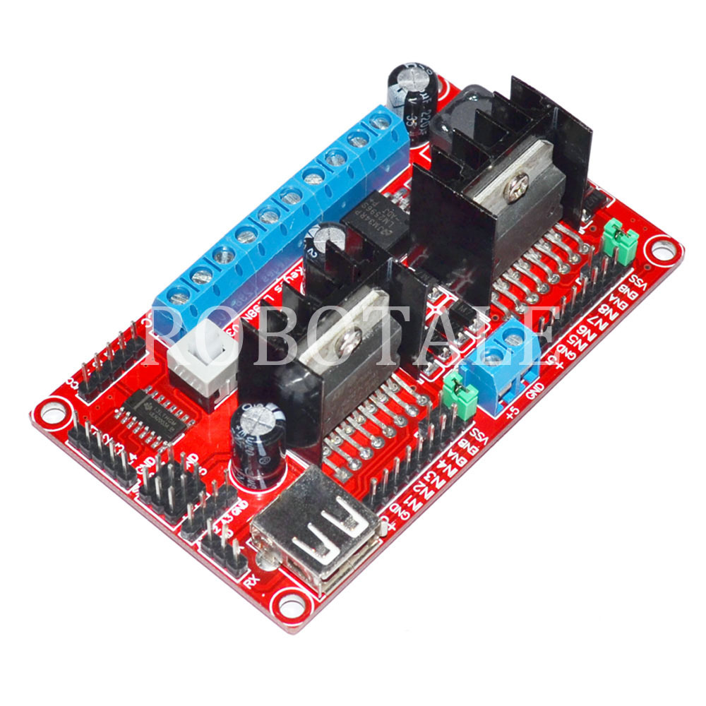 It works dc 390 driver for Stepper motor control software