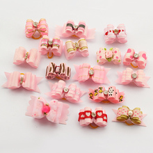 60 Pcs!! Armi store Handmade Dog Bow  Bows For Dogs 11027 Pet Grooming Hair Accessories Products Wholesale(China (Mainland))