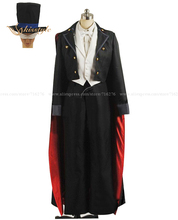 Kisstyle Fashion Sailor Moon Tuxedo Mask Chiba Mamoru Cosplay Costume,Cutomized Any Size Accepted