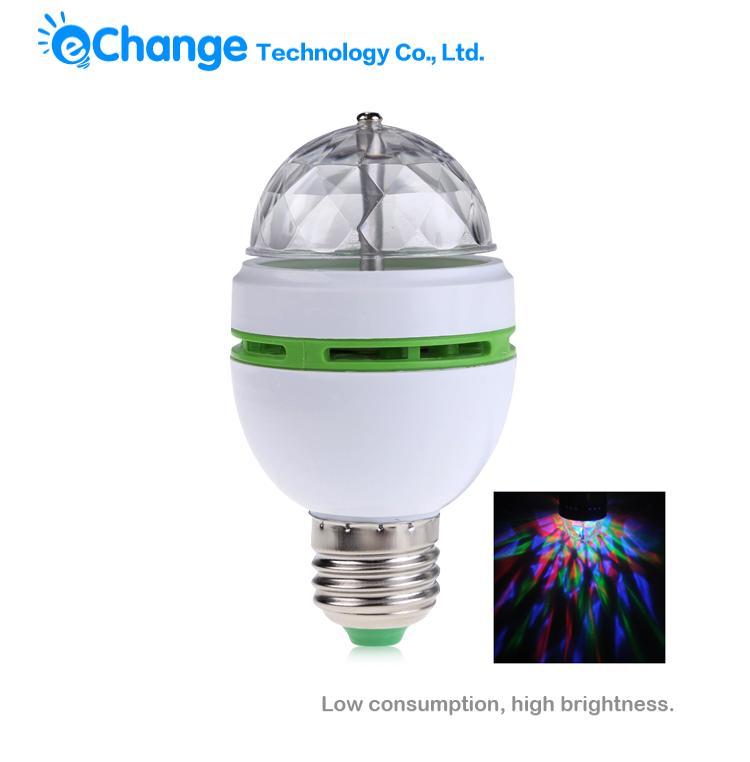 Освещения для сцены EChange E27 3W LED DJ RGB Auto EB0207 освещения для сцены best 32pcs 3 7 19x3w rgb bt plf1903