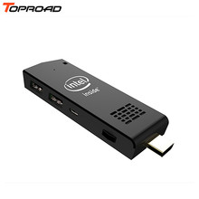 High Quality W5 MINI PC Z3735F 2G/32G WIFI Bluetooth Windows 10 Android 4.4 Built-in Fan Computer Stick(China (Mainland))