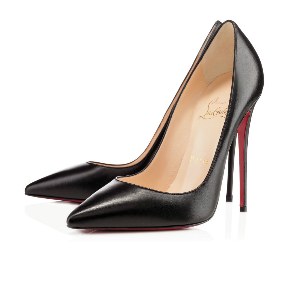 Black Shoes With Red Heels