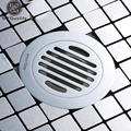 Free Shipping Round Shape Shower Drain Bathroom Grate Floor Drain Chrome Finish