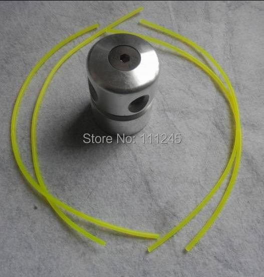 4 PRE-CUT LINES ALUMINUM GRASS TRIMMER HEAD FOR ALL MOST TRIMMERS FREE POSTAGE CHEAP STRIMMER BRUSHCUTTER HEAD(China (Mainland))