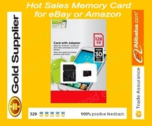 50pcs/lot 100% genuine full micro oem 128gb memory sd card Class 10/tf flash card with card reader by Original Blister package(China (Mainland))