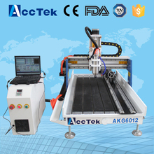 Acctek hot sale cnc engraving milling machine frame 6012/3d wood engraving and cutting cnc router 6090